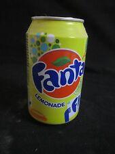 FANTA  lemonade  :a  330 ml empty can, israel 2012