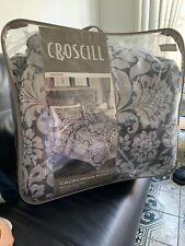 Croscill Remi 4 Piece California King Comforter Set Grey $500