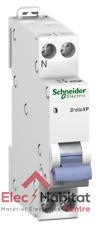 Disjoncteur unipolaire+neutre déclic 10A Schneider 20725