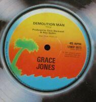 "GRACE JONES ~ Demolition Man ~ 12"" Single"