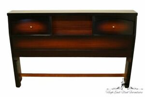 STYLEMAKER FURNITURE Contemporary Modern Cordovan Mahogany Full Size Bookcase...