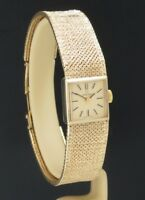 BEAUTIFUL SOLID 9CT GOLD LADIES OMEGA COCKTAIL WATCH  WITH PAPERWORK C1974