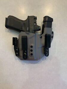 FITS: Glock Sidecar Holster 19 TLR7/TLR7A