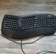 Belkin Ergonomic USB Wired Keyboard F8E887-BLK Black