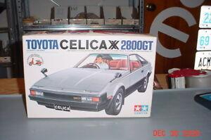 Toyota Celica XX 2800GT 1/24th Model Kit Tamiya SS2421 Vintage
