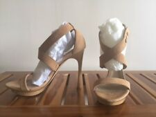 Le Silla Platform Suede Sandals size 7.5 / 37.5 Italian