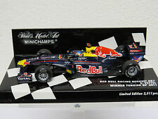 Red Bull Racing RB7 S. Vettel Winner Turkish GP 2011 Minichamps Nr. 410110201