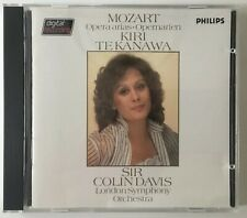 Mozart Opera Arias Kiri Te Kanawa Philips Blue Face Audiophile Smooth Case