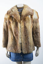 Women's Fur Hippy Basic Vintage Coats & Jackets