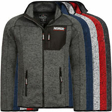 Geographical Norway Jacke Fleece Herren Übergangs Fleecejacke Parka GNTITLE