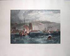 "J.M.W. Turner ""Dover"" Restrike Engraving"