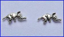 Pair  Of  Sterling Silver ( 925)  Elephant  Earstuds  !!          Brand  New  !!