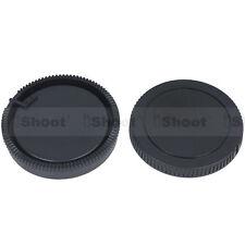 Tapa del cuerpo de cámara ✚ Lente Trasera Cubierta Para Sony a450 a380 a350 a330 a300 a230 a33 a55