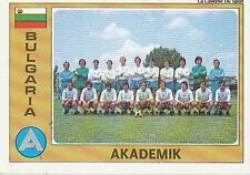 N°019 AKADEMIK TEAM EURO FOOTBALL 76 STICKER CROMO PANINI VIGNETTE BULGARIA