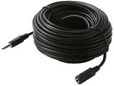 NEW 50 ft 3.5mm 1/8 stereo mini plug/jack audio extension cable