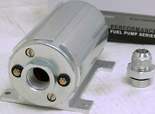 OBX Polish EFI Electric Fuel Pump 2100 HP 1000 LBS 45 PSI -12AN In -12AN Out