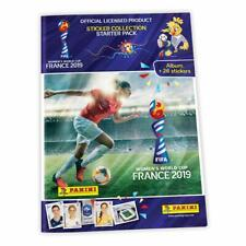 2019 PANINI WOMEN'S WORLD CUP FRANCE STICKERS STARTER PACK ALBUM + 26 STICKERS