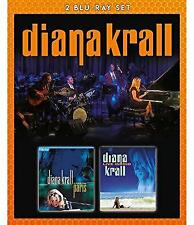 Diana Krall - Live In Paris And Live In Rio (NEW 2xBLU-RAY)