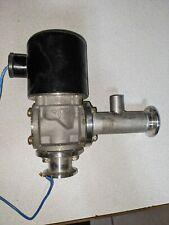 CKD High Vacuum Solenoid Valve KF-25 QF fittings 24 VAC HVB81-15F-5