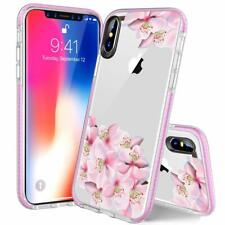 iPhone Ten Xs Max Case 6 5 Hybrid Protective Soft TPU Slim Flexible Clear Cover