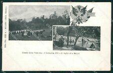 Varese Brenta Cittiglio Militari Valcuvia cartolina QK9812