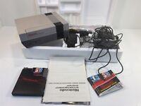Nintendo Entertainment System NES Original Console NES-001