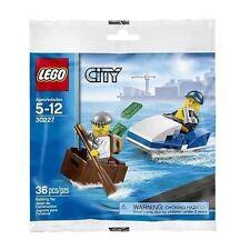 NEW LEGO CITY POLICE WATERCRAFT Set 30227 boat polybag stocking stuffer minifig