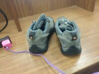 Merrell J06026 GRAY Vibram Hiking Shoe Women's 8.5
