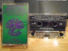 RARE PROMO Concrete CASSETTE TAPE Iron Maiden VOIVOD Shotgun Messiah TAD metal !