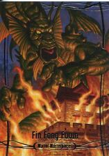 Marvel Masterpieces 2016 Base Card #3 Fin Fang Foom #/ 1999
