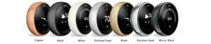 COMPLETE KIT: Google Nest 3rd Generation Learning Thermostat -> Choose Color