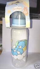 biberon plastique neuf etiqueté disney bisounours bleu   250 ml