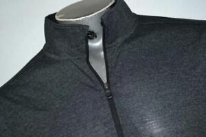 18674-a Under Armour Golf Pullover Shirt Zip Gray Size XL Mens Adult