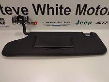 07-1 Jeep Wrangler JK New Sunvisor Sun Visor with Mirror Driver Side Left Mopar