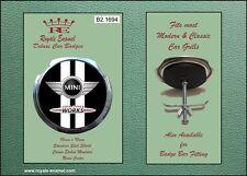 Royale Car Grill Badge & fittings JOHN COOPER WORKS MINI COOPER S - B2.1694