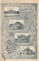 WIEN – Four Scenes Gruss Aus Wien – Vienna – Austria - 1910