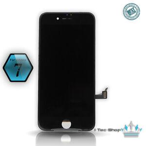 Display für iPhone 7 LCD mit RETINA Glas Scheibe 3D Touch VORMONTIERT SCHWARZ
