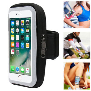 Running Sports Arm Band Mobile Phone Holder Bag Gym Armband Exercise For Phones