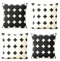 4-Pack classic Throw Pillow Cover 18x18,Home Decor Outdoor-Insert Not Include