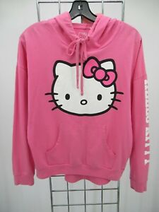 K0680 VTG Sanrio Hello Kitty Graphic Pullover Hoodie Size M