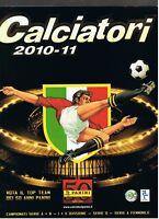 PANINI Calciatori 2010//11 Leeres Stickeralbum Aggiornamenti+2 tüten v1-v12