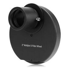 2INCH Eyepiece 5-Filter Wheel Astronomy Telescope Accessory Outdoor V9X6