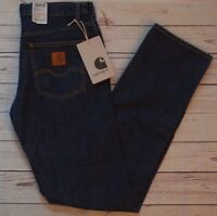 Carhartt Westerly Pant 13.5 Oz Japanese Denim Indigo Blue Jeans 31/34 BNWT NEW