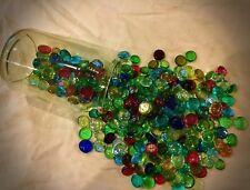 10 X Mezclado Vidrio Guijarros Piedras Gemas Azulejos Nuggets Guijarro Marbles