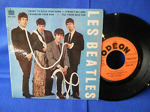 THE BEATLES WANT TO HOLD SOE 3745  ORIG FRANCE EXC