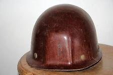 casque de mineur Bourrin fibre et mica ancien