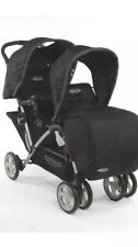 GRACO Double Baby Pram Twin Pushchair Stroller Buggy Foldable and Rain Cover