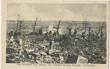 Ablain Cemetery, German WW1 Postcard, Site Of Fierce Battles 1914-1918 (89)