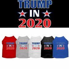 Trump In 2020 Screen Print Dog Cat Pet Puppy Shirt
