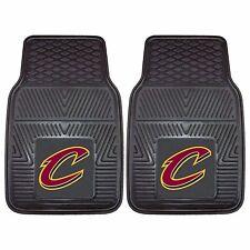 NEW NBA Cleveland Cavaliers Rubber Floor Mats Heavy Duty Fan mats Universal Fit